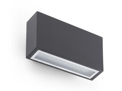 Tane - Nástěnné svítidlo (tmavá šedá)