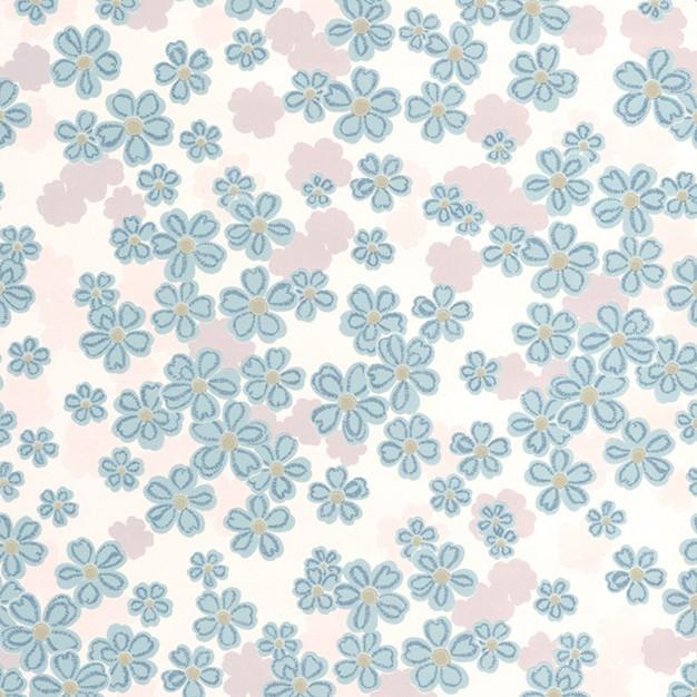 Tapeta 20-615 (bílá/modrá, šedá)