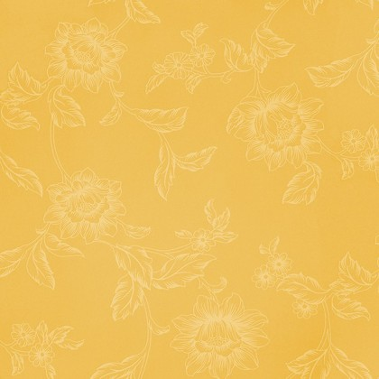 Tapeta 3640834 (žlutá/bílá)