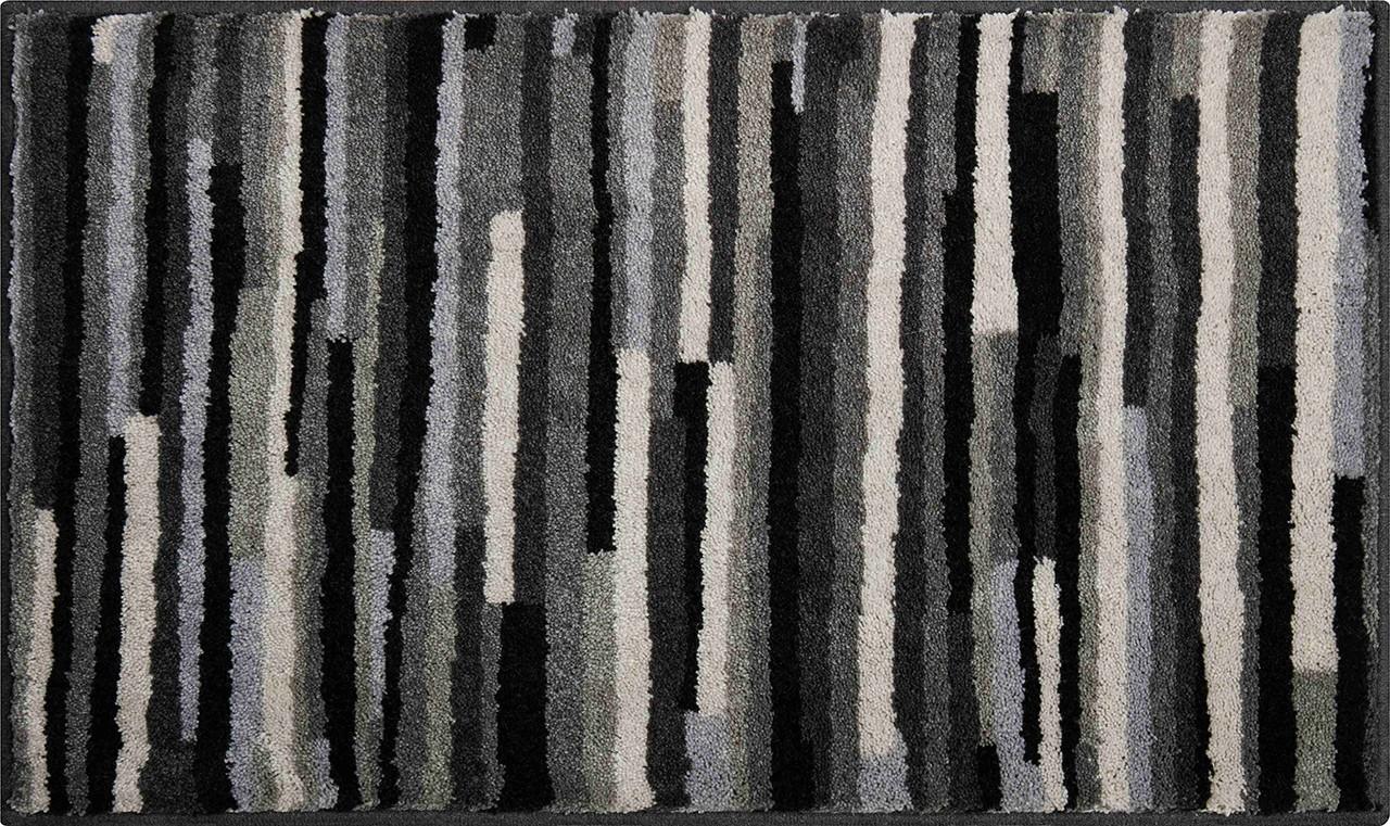 Tara - Koupelnová předložka 60x100 cm (antracitová)