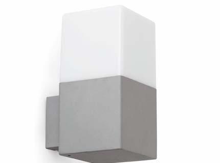 Terraco - Nástěnné svítidlo (světle šedá)