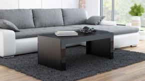 Tess - Konferenční stolek obdélníkový (černá)
