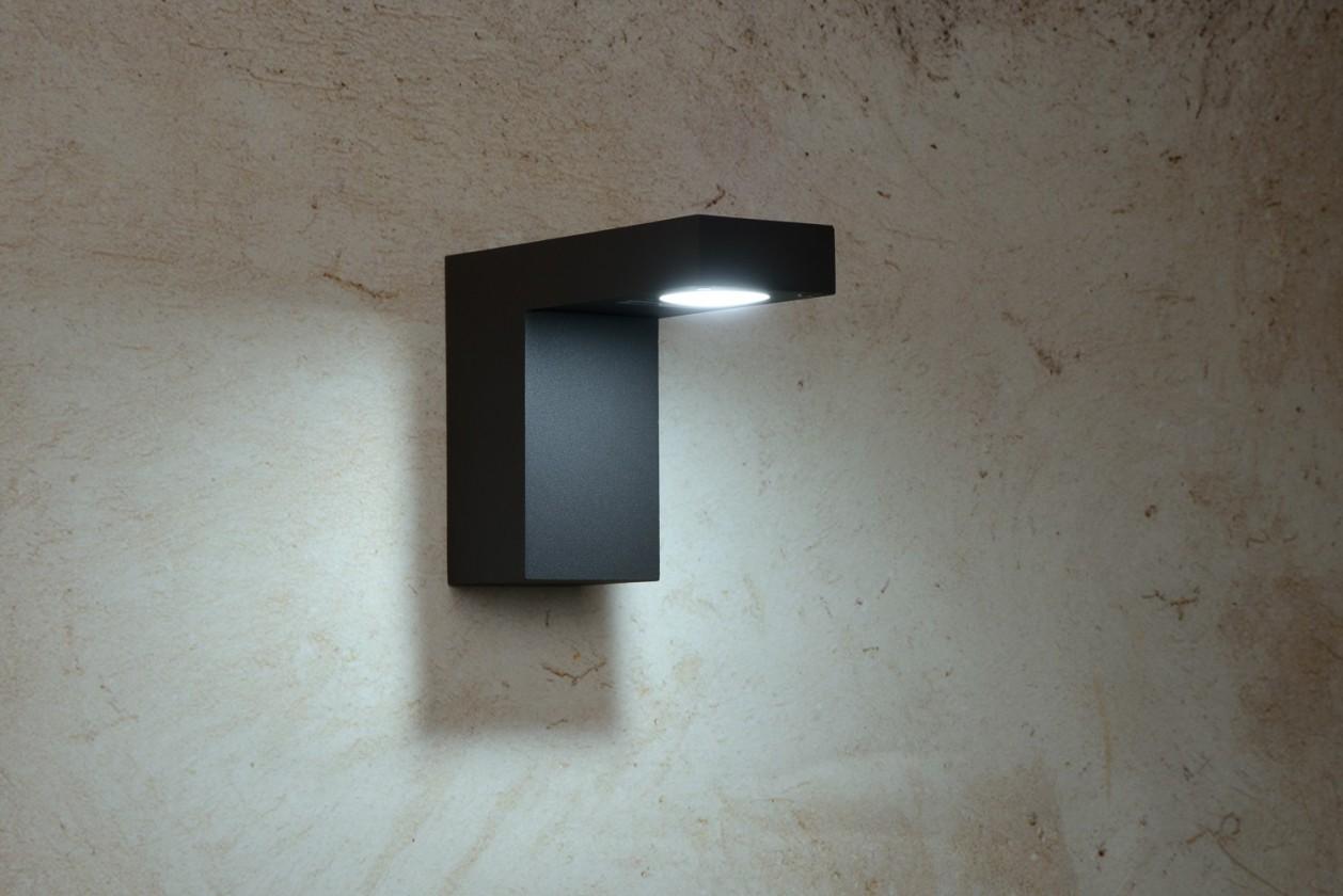 Texas - nástěnné osvětlení, 6W, LED (černá)