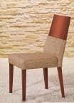 Timoteo - Jídelní židle (třešeň/béžová)