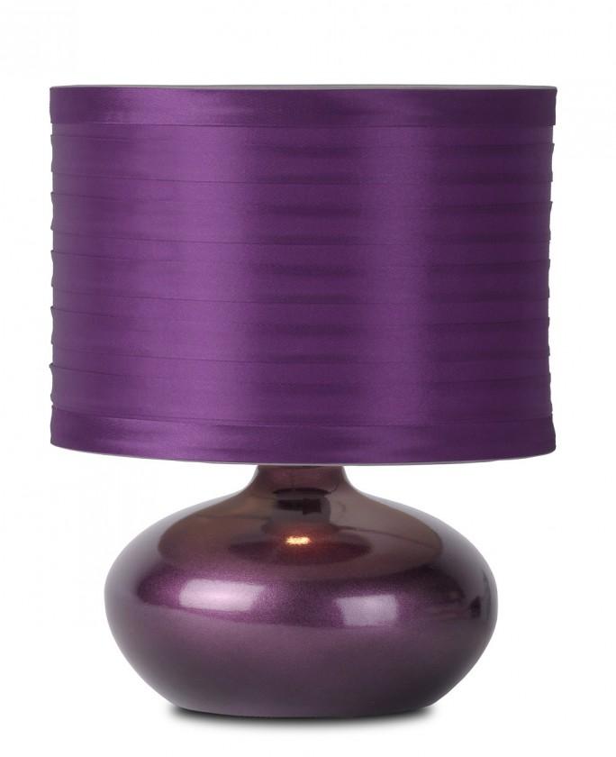 Tina - lampička, 40W, E14 (fialová)