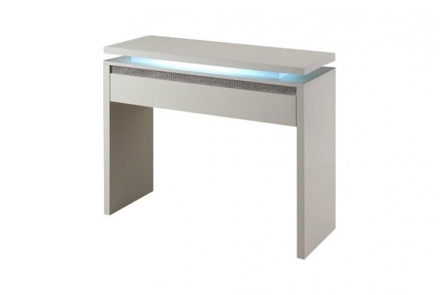 Toaletní stolek Diva - Toaletní stolek (bílá/diamant)