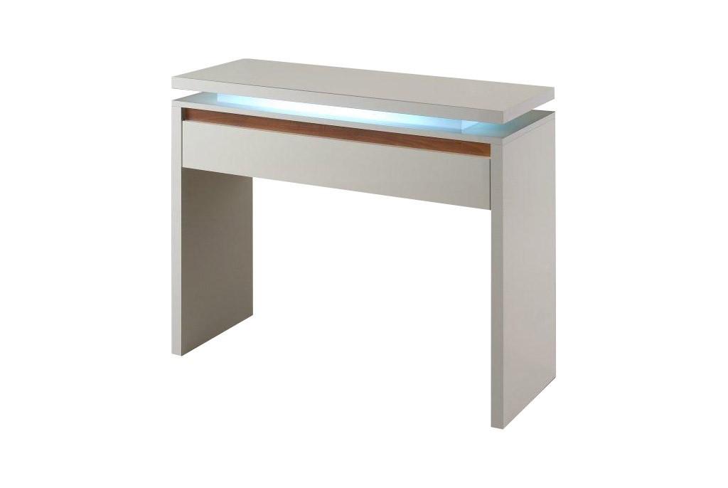 Toaletní stolek Diva - Toaletní stolek (bílá/ořech)