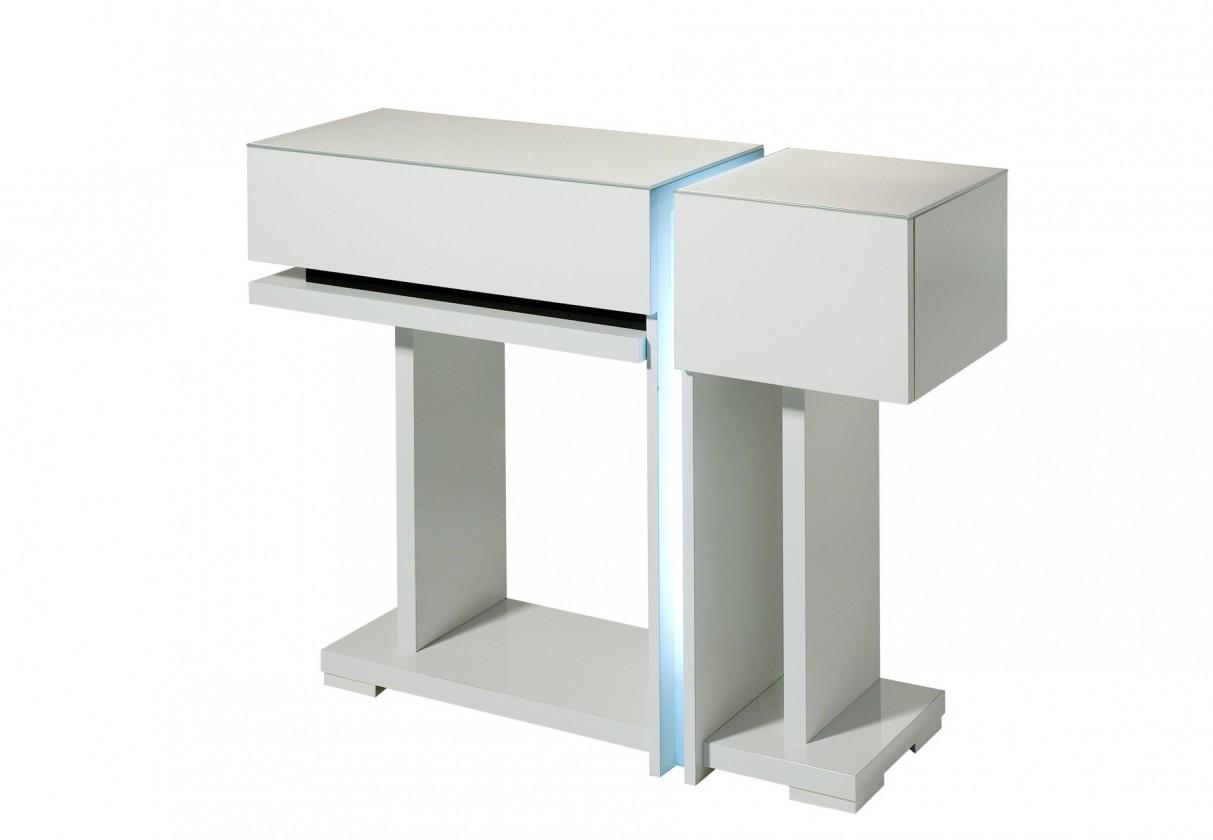 Toaletní stolek Nicoli - Toaletní stolek (bílá)