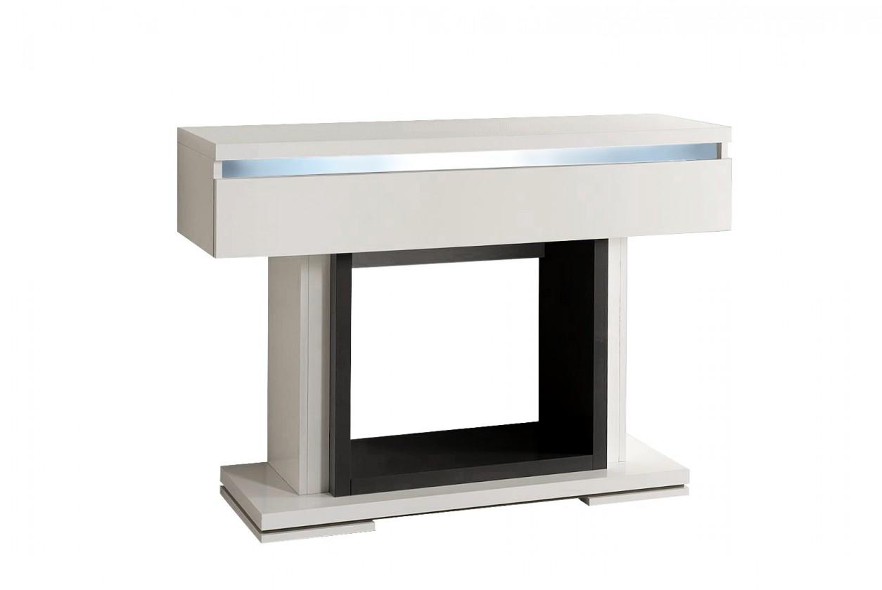 Toaletní stolek Rimini - Toaletní stolek (černá/bílá)