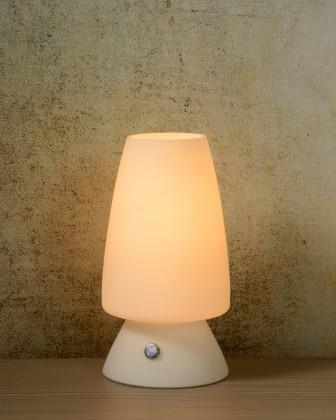 Toeky - lampička, 40W, E14 (bílá)