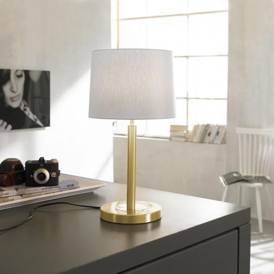 Toulouse - Lampička, LED (matná mosaz)