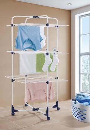 Tower 270 - sušák na prádlo (bílý)