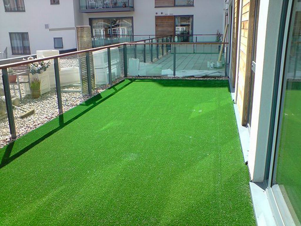 Travní koberec s nopky 100x200 cm (zelená)