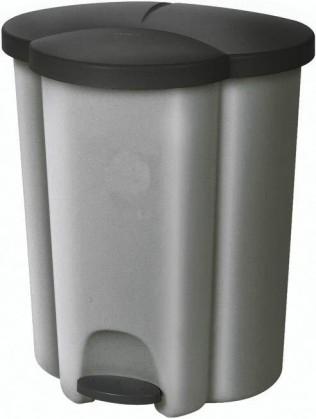 TRIO (plast,stříbrná)