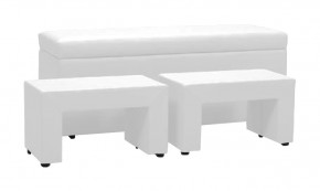 TRIPLE + NIGHT STANDS (white, sk. II)