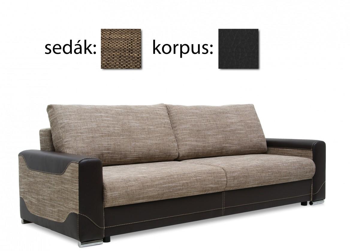 Trojsedák Vegas 3-sed(magma dk grey 02-sedák / madryt new 1100-korpus, sk.