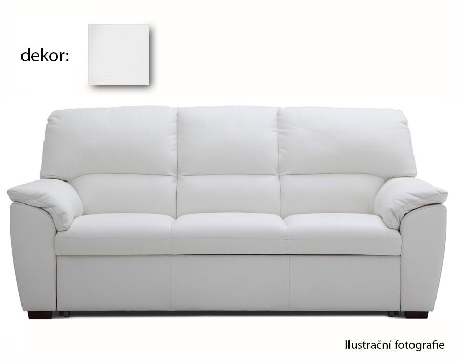 Trojsedák York Divano - trojsedák (extraleather white)