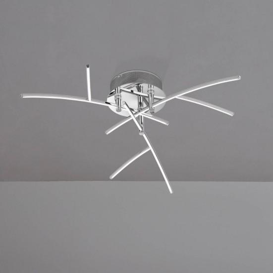 Troy - Stropní osvětlení, LED (chrom)