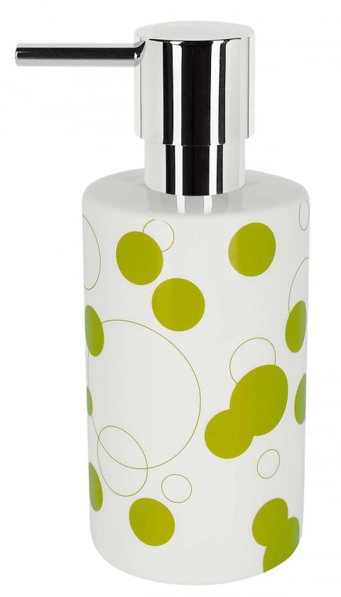 Tube-Dávkovač mýdla Bubbles kiwi(bílá,zelená)