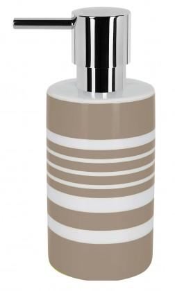 Tube-Dávkovač mýdla  STRIPE(bílá,šedá)