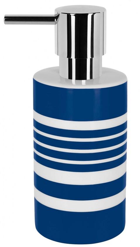 Tube-Dávkovač mýdla  STRIPES(bílá,modrá)