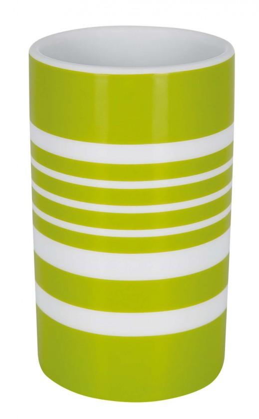 Tube-Kelímek STRIPES green(bílá,zelená)