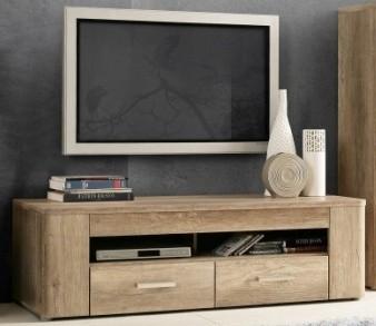 TV, Hifi stolek  - dřevěný Belmondo BLDT12 (Dub Antický)