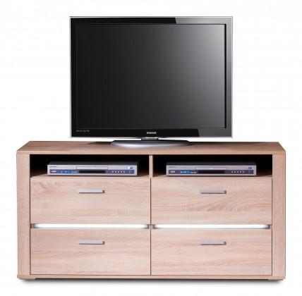 TV, Hifi stolek  - dřevěný Benson Typ 33 (dub bardolino pílený)