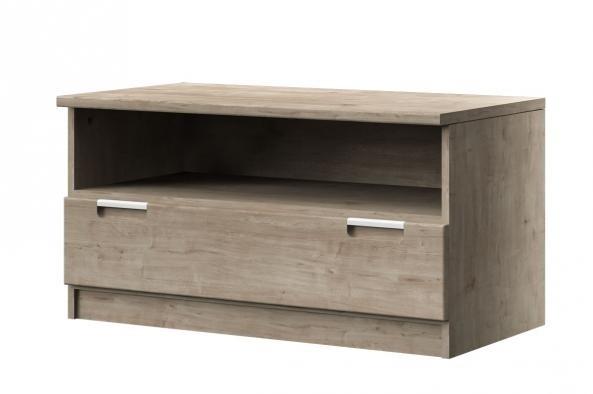 TV, Hifi stolek  - dřevěný Chalet typ 08 (Dub arlington/dub arlington)