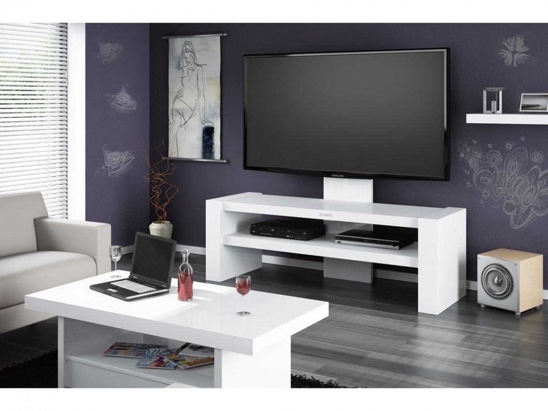 TV, Hifi stolek  - dřevěný Davos - TV stolek s držákem