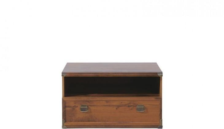 TV, Hifi stolek  - dřevěný INDIANA JRTV1S (Dub sutter)