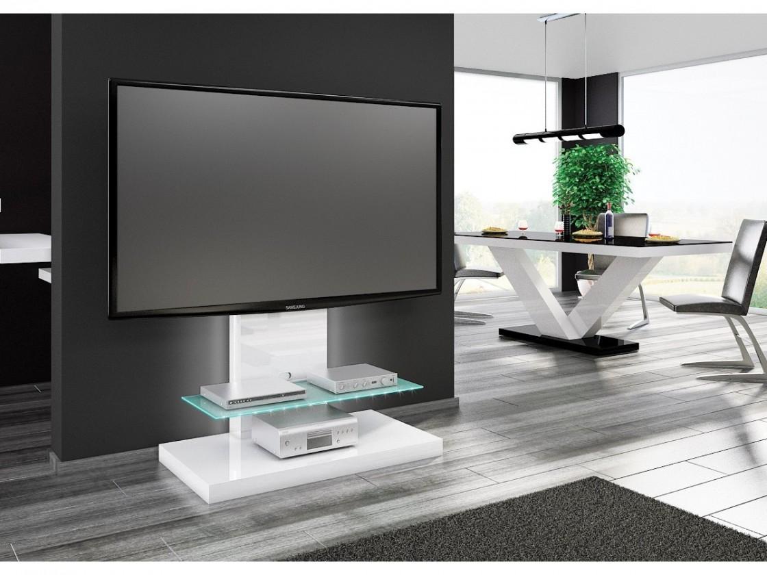 TV, Hifi stolek  - dřevěný Marino max-TV stolek s držákem