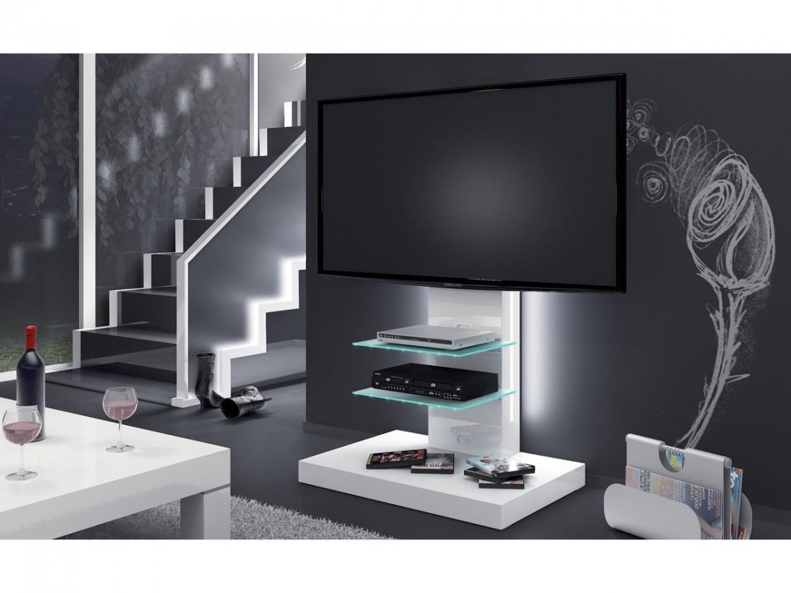 TV, Hifi stolek  - dřevěný Marino - TV stolek s držákem