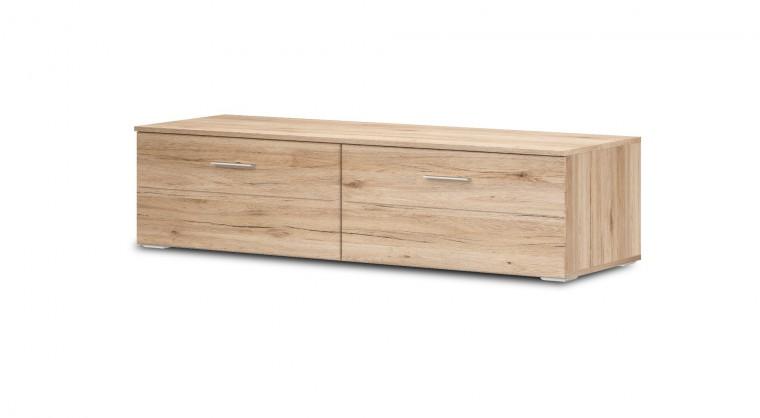 TV, Hifi stolek  - dřevěný Morris Typ 31 (dub sanremo pískový / břidlice)