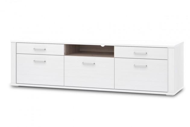 TV, Hifi stolek  - dřevěný Norman Typ 32 (pino aurelio LDTD/dub nelson LDTD)