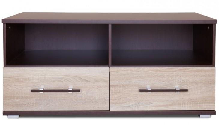 TV, Hifi stolek  - dřevěný Oliver 93 (Wenge/dub sonoma)