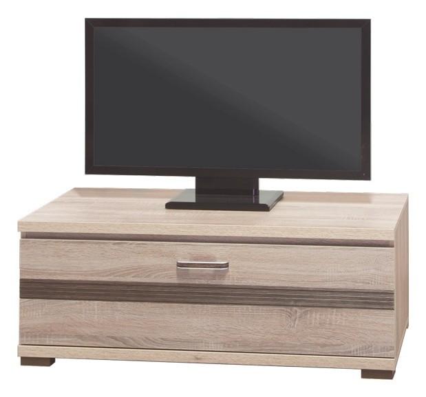 TV, Hifi stolek  - dřevěný Orest OR-3 (Dub Sonoma tmavý/Dub Sonoma Truffel)