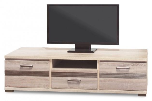 TV, Hifi stolek  - dřevěný Orlando - OR 2, TV stolek (dub sonoma trufel/dub sonoma tmavý)