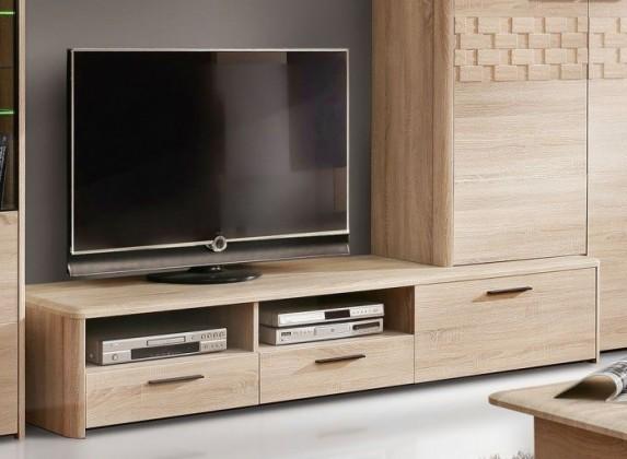 TV, Hifi stolek  - dřevěný Palais PLST13R (Dub sonoma)