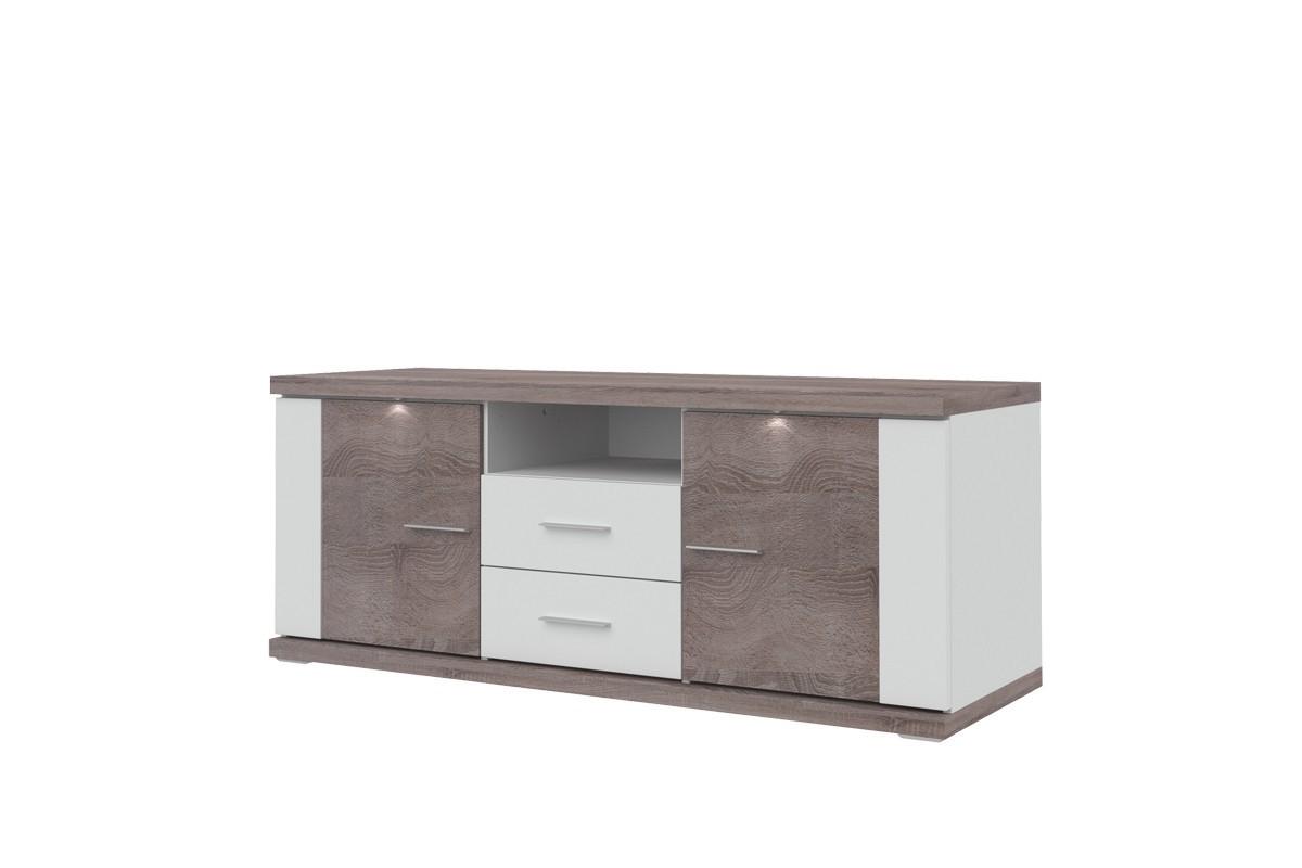 TV, Hifi stolek  - dřevěný Portoriko - TV stolek (150,7 cm)