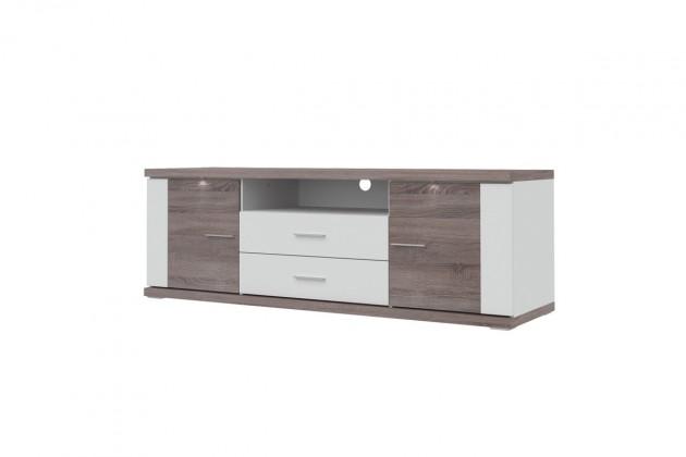 TV, Hifi stolek  - dřevěný Portoriko - TV stolek (179,2 cm)