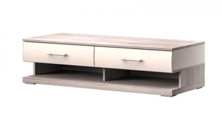 TV, Hifi stolek  - dřevěný Run Typ 10 (Dub Bardolino/Vanilka VL)