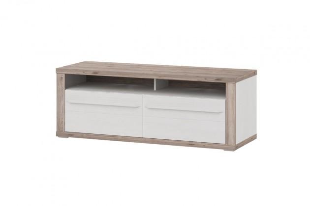TV, Hifi stolek  - dřevěný Semi - Typ 32 (pino aurelio/dub nelson)