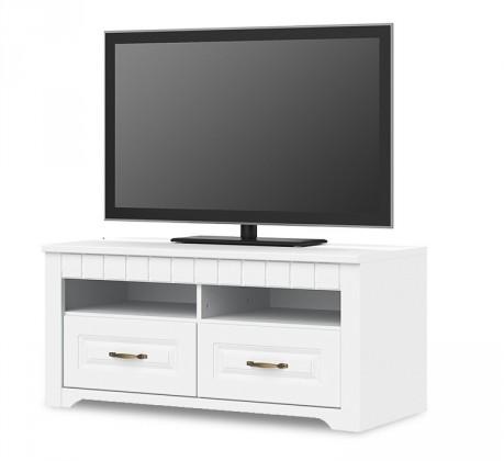 TV, Hifi stolek  - dřevěný Tampere - Typ 31 (bílá arctic)