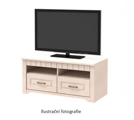 TV, Hifi stolek  - dřevěný Tampere - Typ 31 (dub mountain)