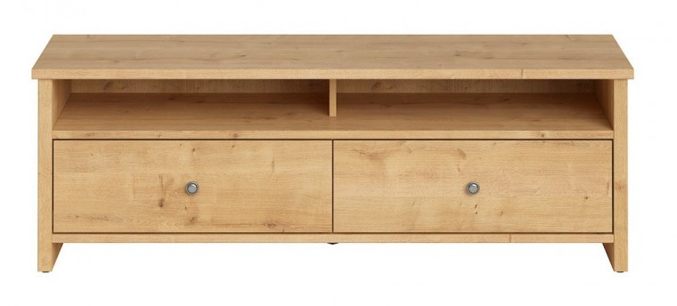 TV, Hifi stolek  - dřevěný Televizní stolek Puerto (dub burlington)