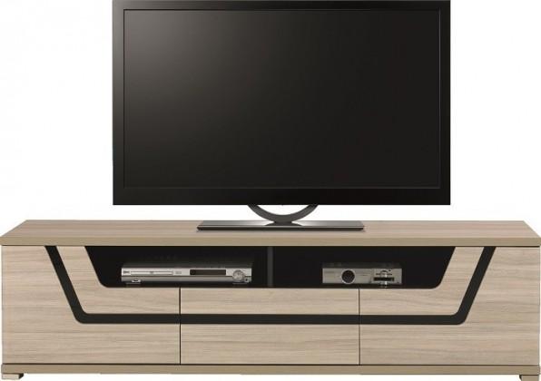 TV, Hifi stolek  - dřevěný Tes - TV komoda TS 1 (jilm, korpus a fronty)