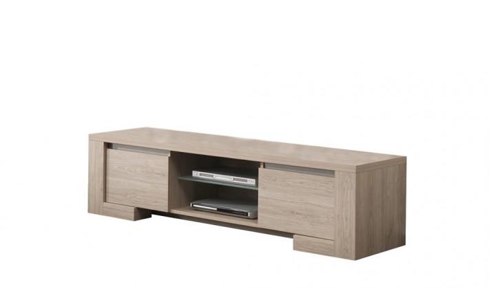 TV, Hifi stolek  - dřevěný Tomba - TV element C061 (dub přírodní)