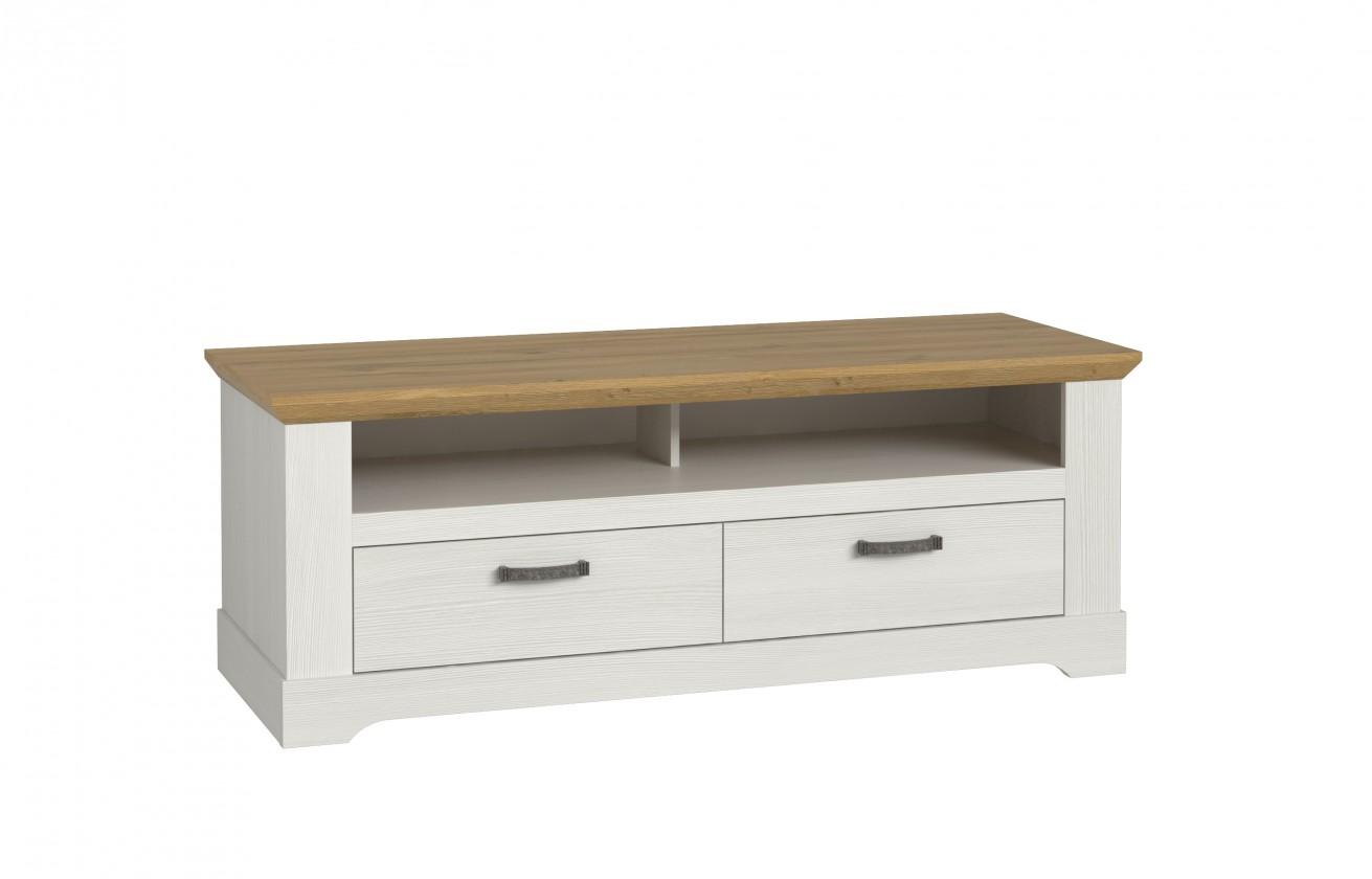 TV, Hifi stolek  - dřevěný TV stolek Caborno