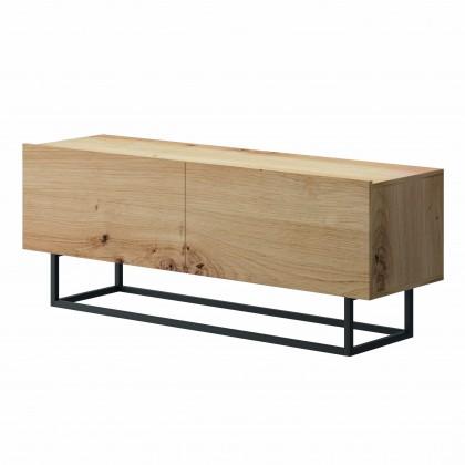 TV, Hifi stolek  - dřevěný TV stolek Duva (dub)